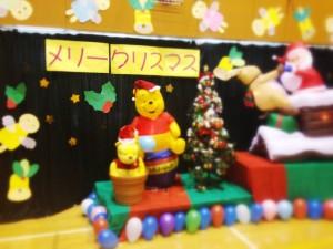 児童館のクリスマス会でみつけた装飾!