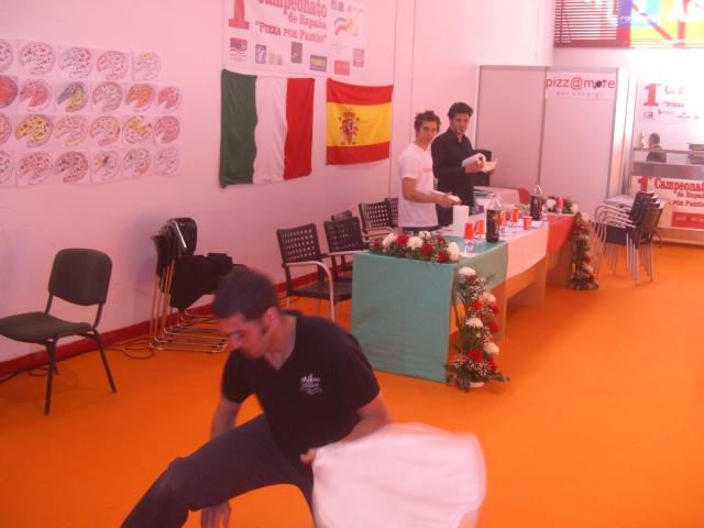 スペインのピザ大会
